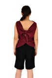 SIENNA Tie-back Sleeveless Top