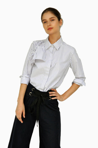 VICKY Bow-detailed Top