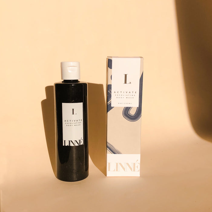 LINNE ACTIVATE Exfoliating Body Wash