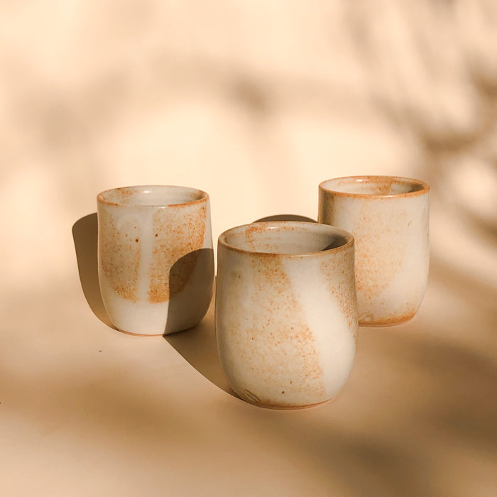 Sand Earthly Ceramic Tumblers