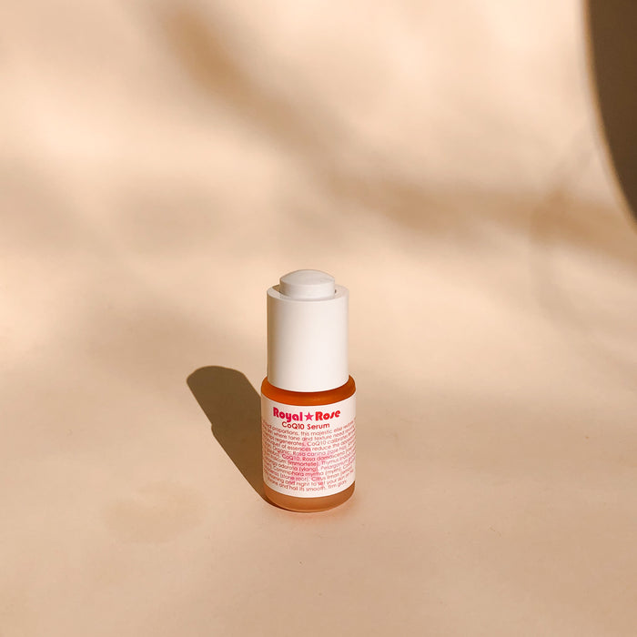 Living libations Rose CoQ10 Serum