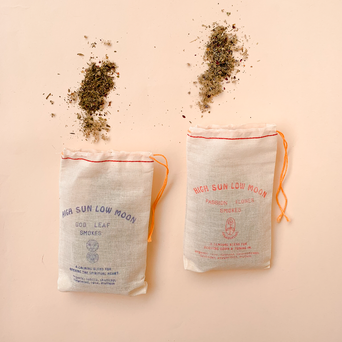 High Sun Low Moon Herbal Smoke Blend-Loose Leaf