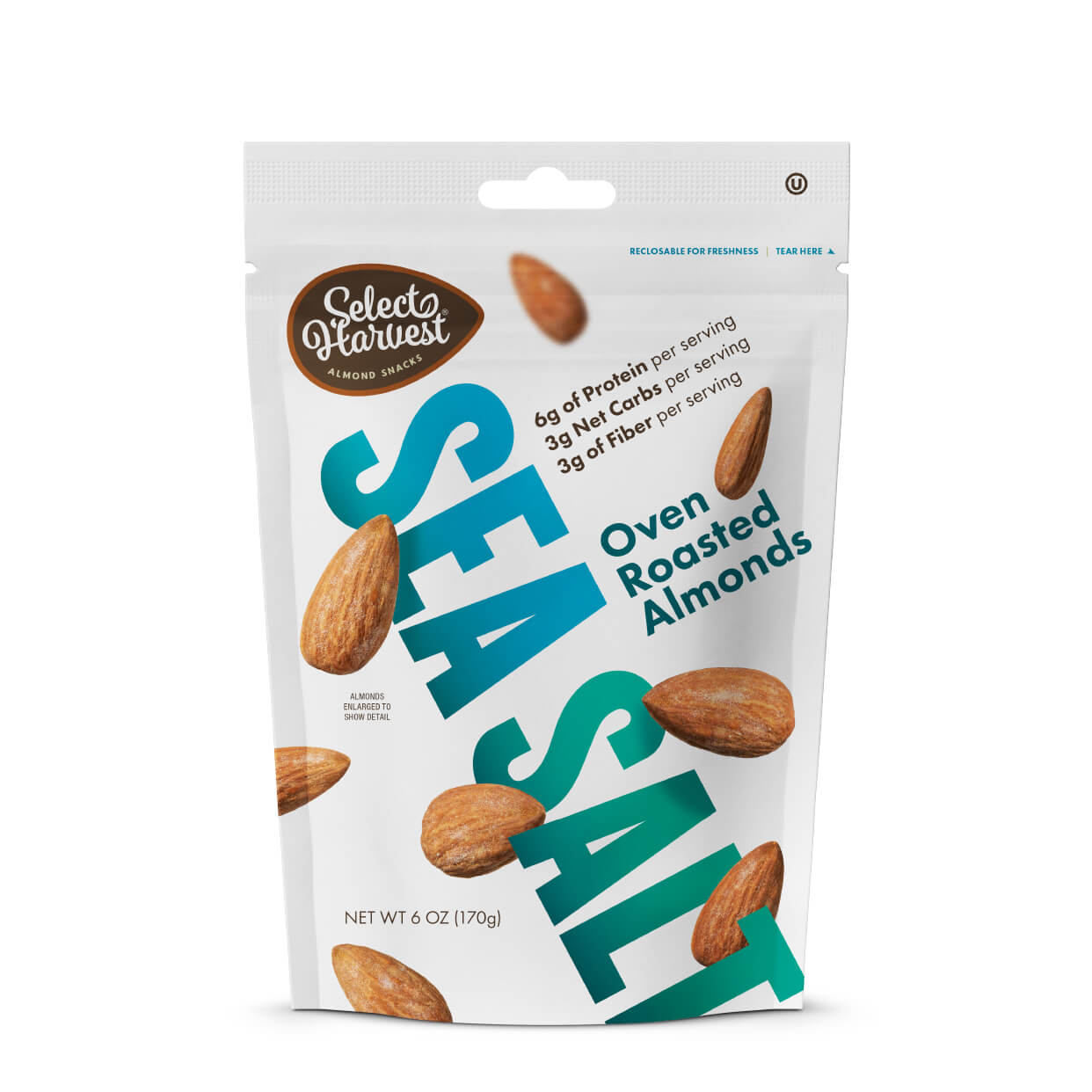 Oven Roasted Almonds with Sea Salt