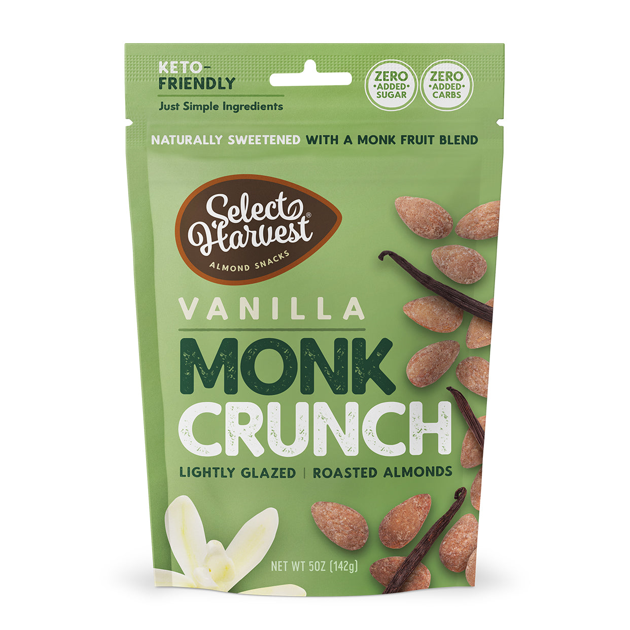 Vanilla Monk Crunch
