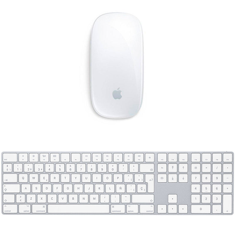 Kit Apple Magic Keyboard 2 con Teclado Numérico + Magic Mouse 2 - Reacondicionado