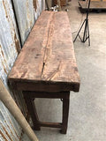 Vintage Wood Folding Table, Indian Wedding Table, Dining Table Portable Table A3