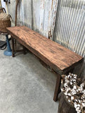 Vintage Wood Folding Table, Indian Wedding Table, Dining Table Portable Table A6