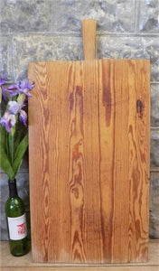 Large Vintage French Bread Board, Rectangle Bread Board, Wood Cutting Board F49