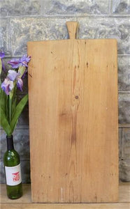 Large Vintage French Bread Board, Rectangle Bread Board, Wood Cutting Board F50,