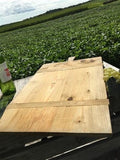 Large Vintage French Bread Board, Rectangle Bread Board Wood Cutting Board F114,