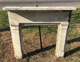 Antique Wood Fireplace Mantel Suround Architectural Salvage Victorian Rustic A34