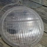 Lot 7 Assorted Head Lamp Light Clear Glass Lens Old Hot Rat Rod Model A T c