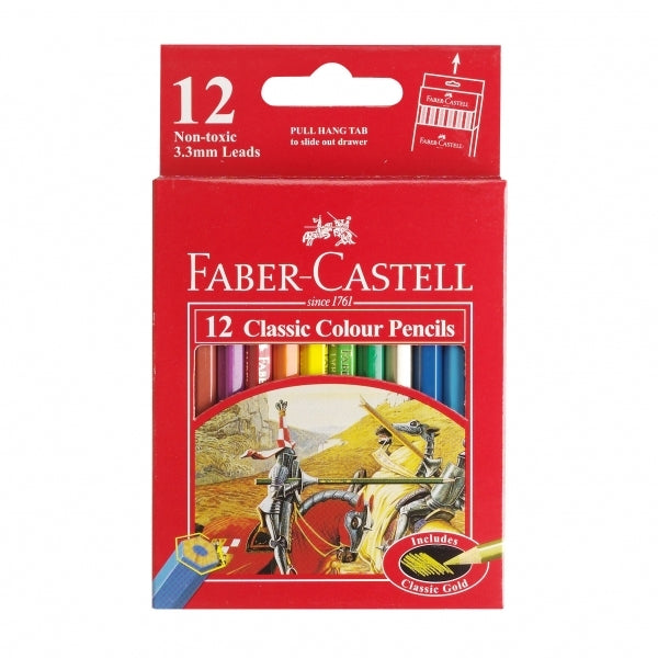 Faber-Castell Classic: Full Colouring Pencil - Pack of 12