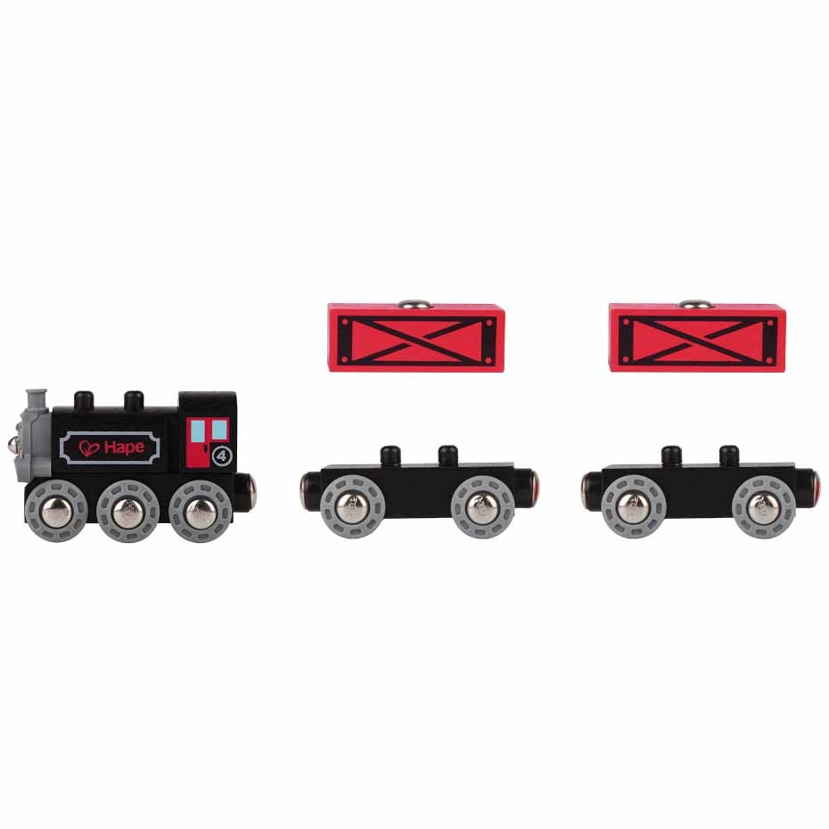 Hape: Steam-Era Freight Train
