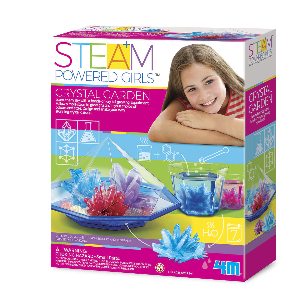 4M STEAM Girls: Crystal Garden Science Kit