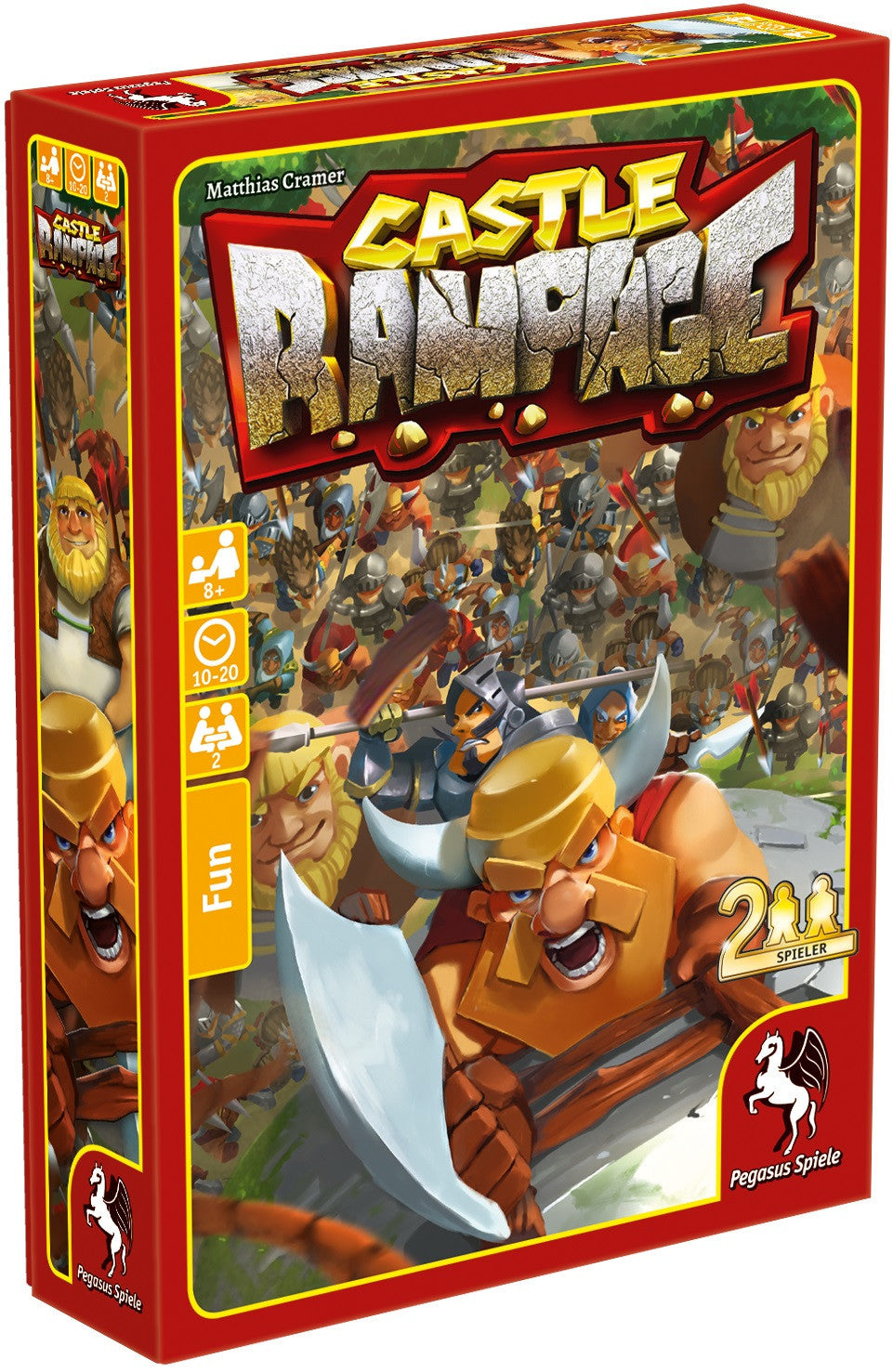 Castle Rampage - Card Game