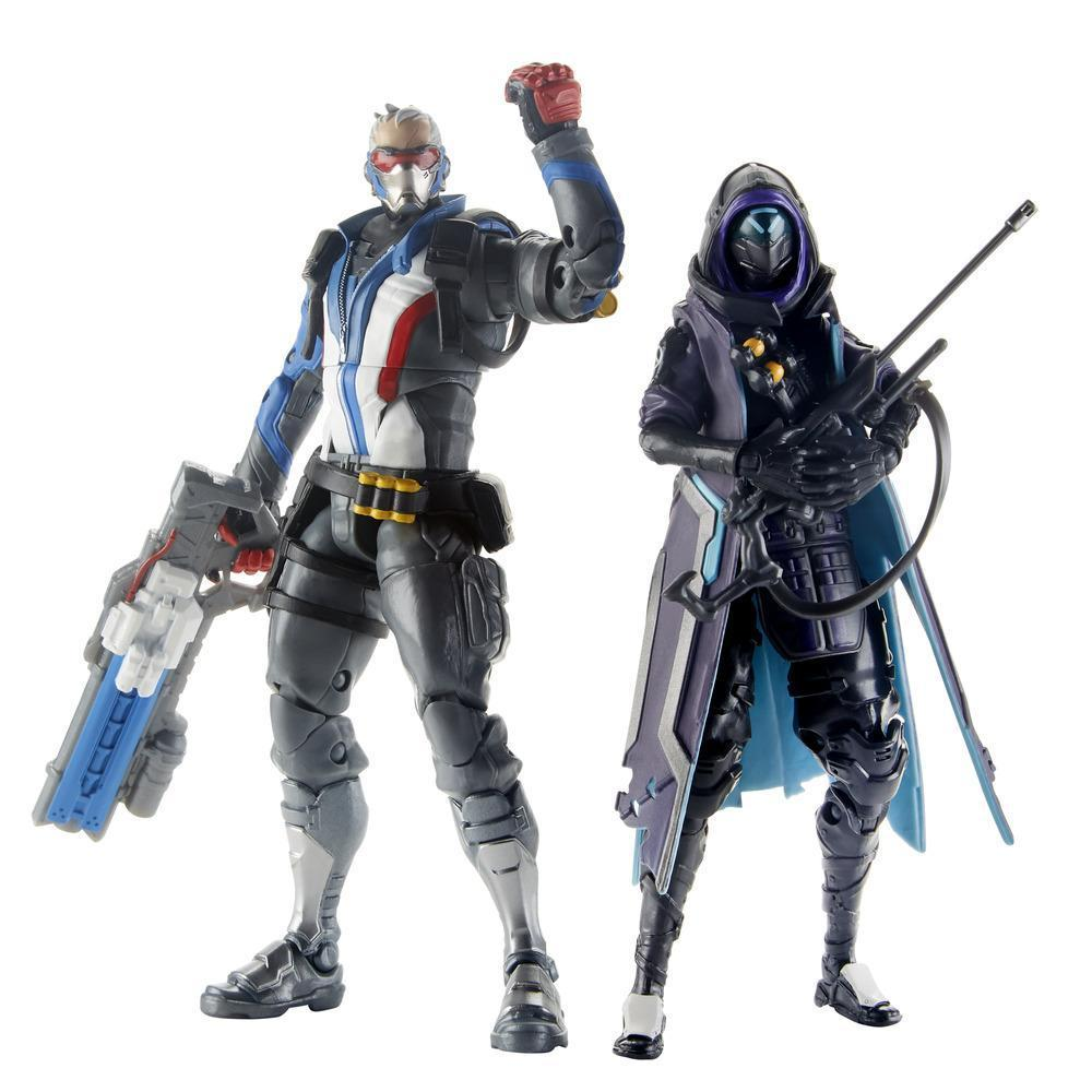"Overwatch: Ultimates Series 6"" Dual Pack - Soldier: 76 & Ana (Shrike)"