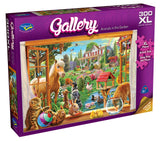 Holdson XL: 300 Piece Puzzle - Gallery S6 (Animals in the Garden)