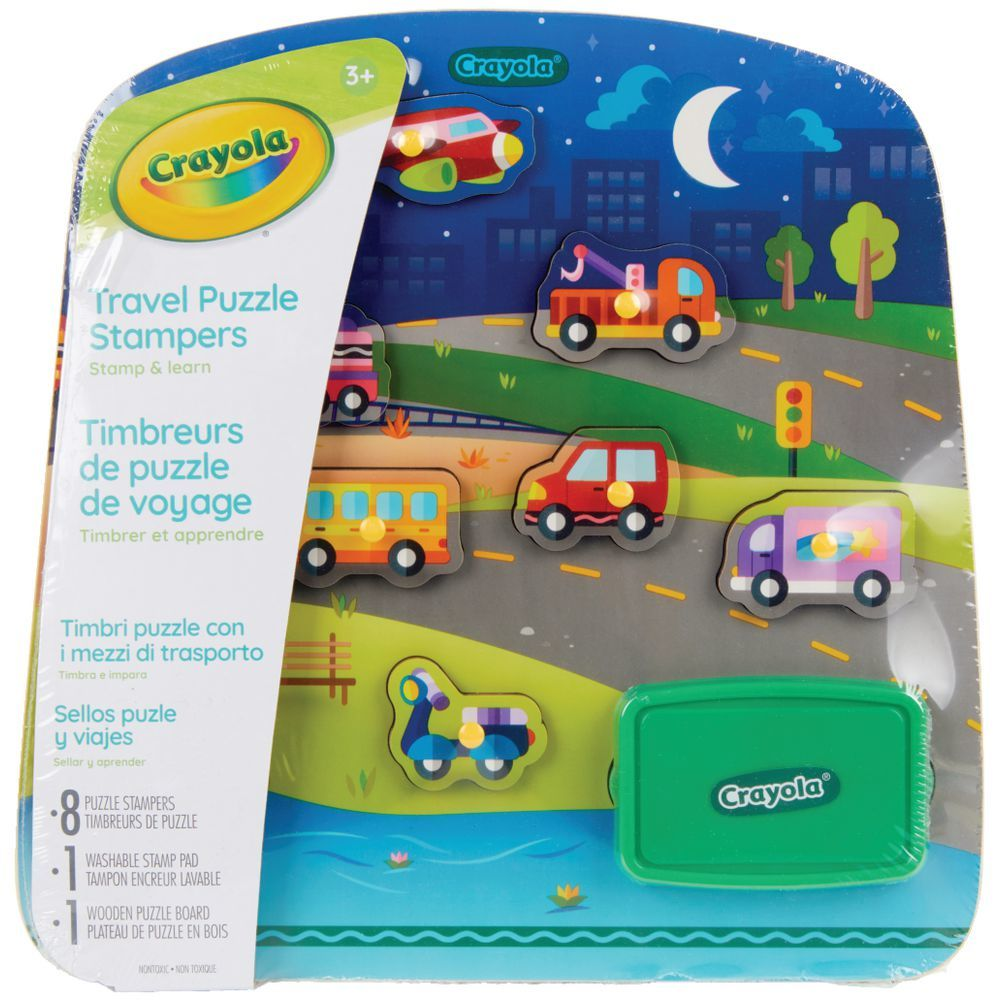 Crayola: Travel Puzzle Stampers