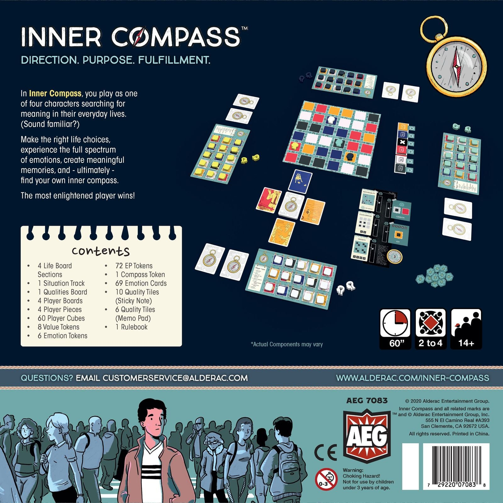 Inner Compass - Board Game