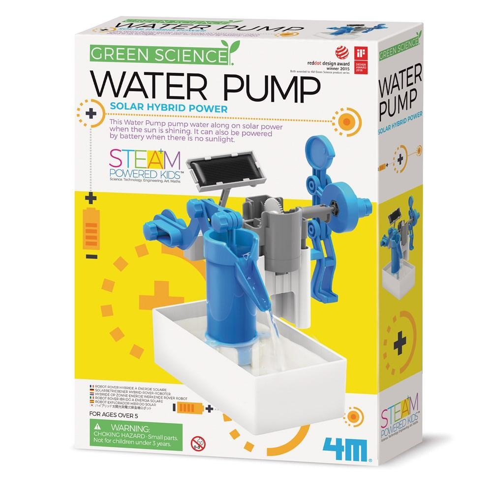 4M: Green Science Water Pump Solar Hybrid Power