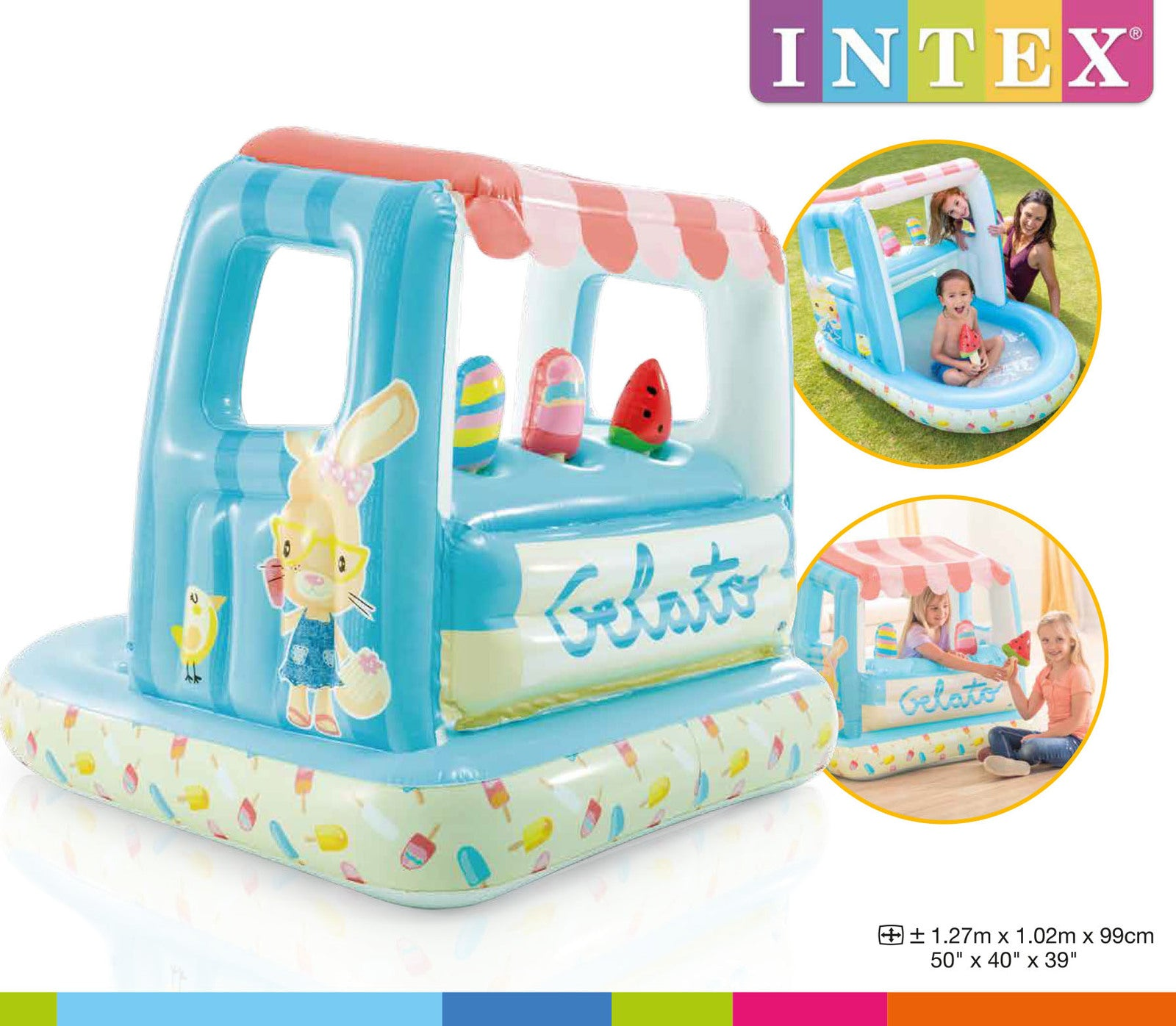 Intex: Ice Cream Stand Play House