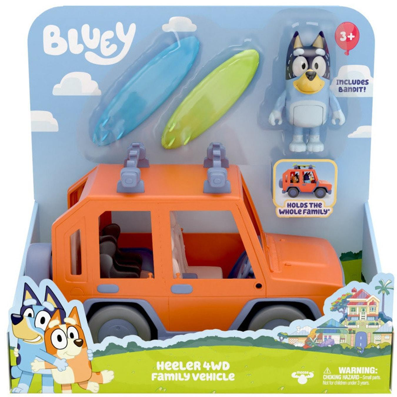 Moose: Bluey Heeler - 4WD Family Vehicle