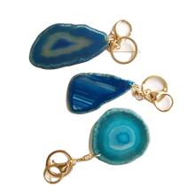 Load image into Gallery viewer, Agate Keychain