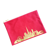 Load image into Gallery viewer, Dubai Skyline Pouch