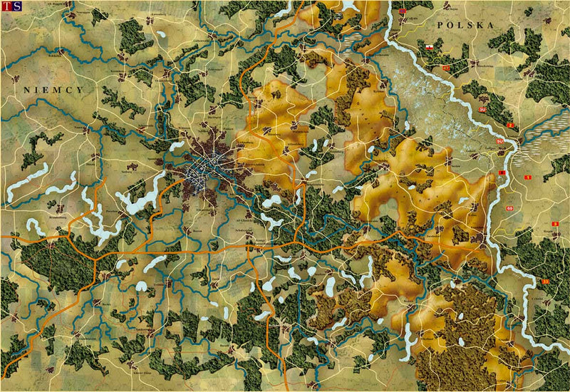 Battle of Berlin 1945 map
