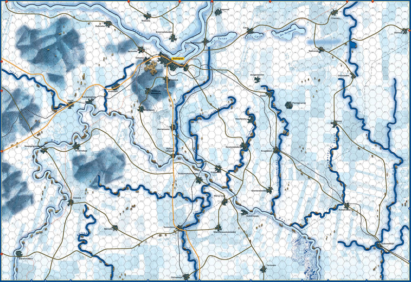 Battle of Stalingrad map