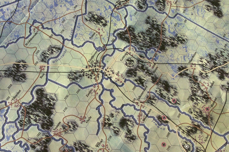 Market Garden battle map 1944