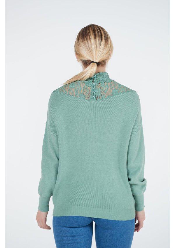 Lace Detail Jumper