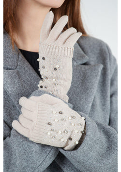 Beaded Detachable Mitten