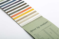 Freelife Merida card and Paper Swatch Go Green