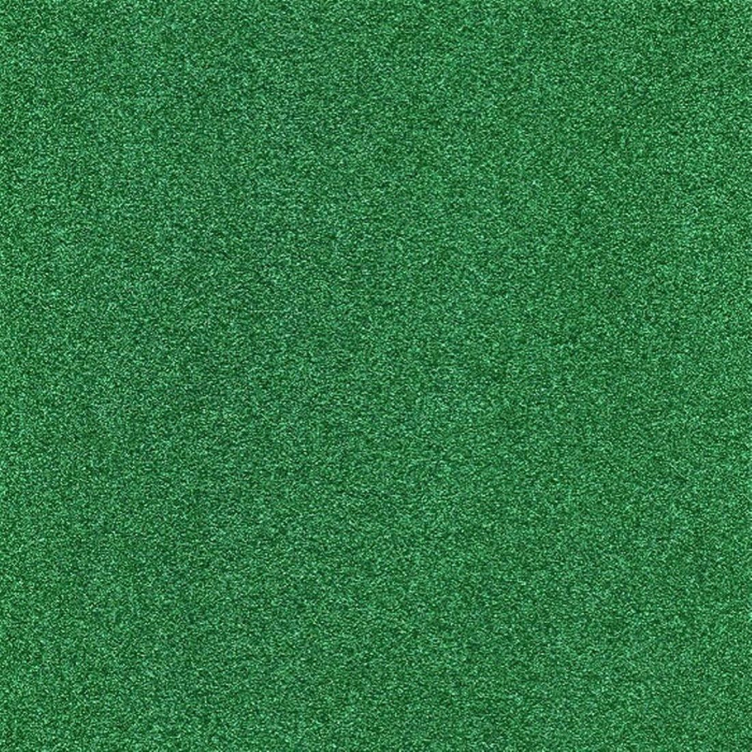 Green Glitter Card 225gsm Non Drop Non Shed Glitter