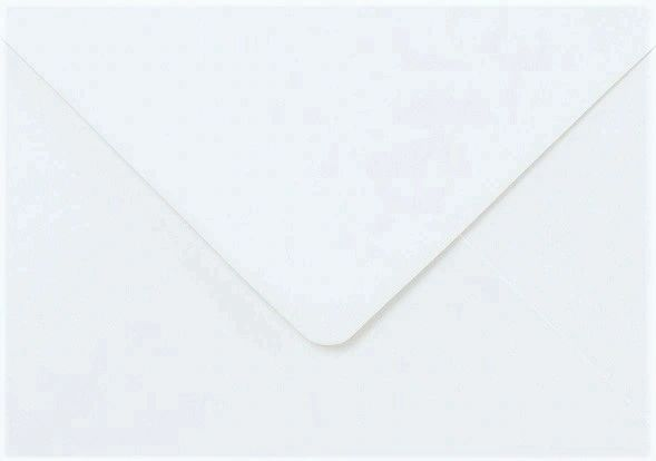 A5 White Cards and C5 Envelopes - Creased Card Blanks 300gsm