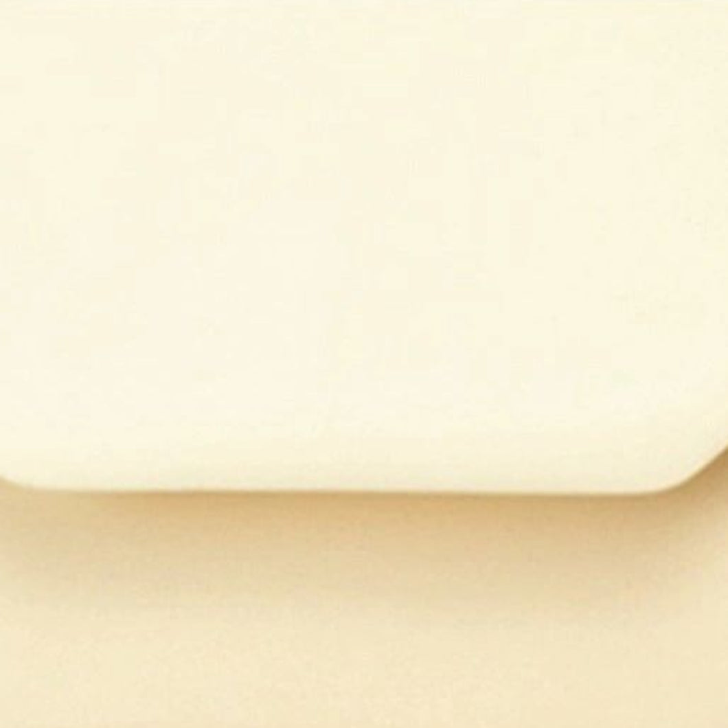 DL Cream Envelopes Gummed Flap 100gsm