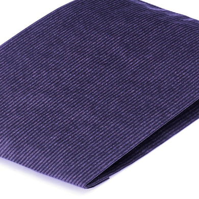 Blue Paper Counter Bags 15x4x21cm Heavyweight Ribbed Kraft
