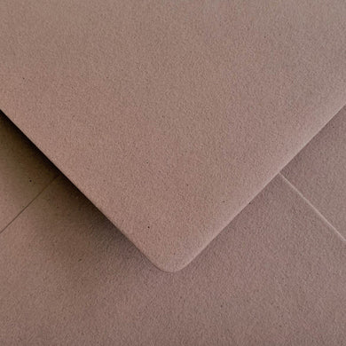 C6 Almond Crush Envelopes Recycled Gummed Diamond Flap Premium 120gsm