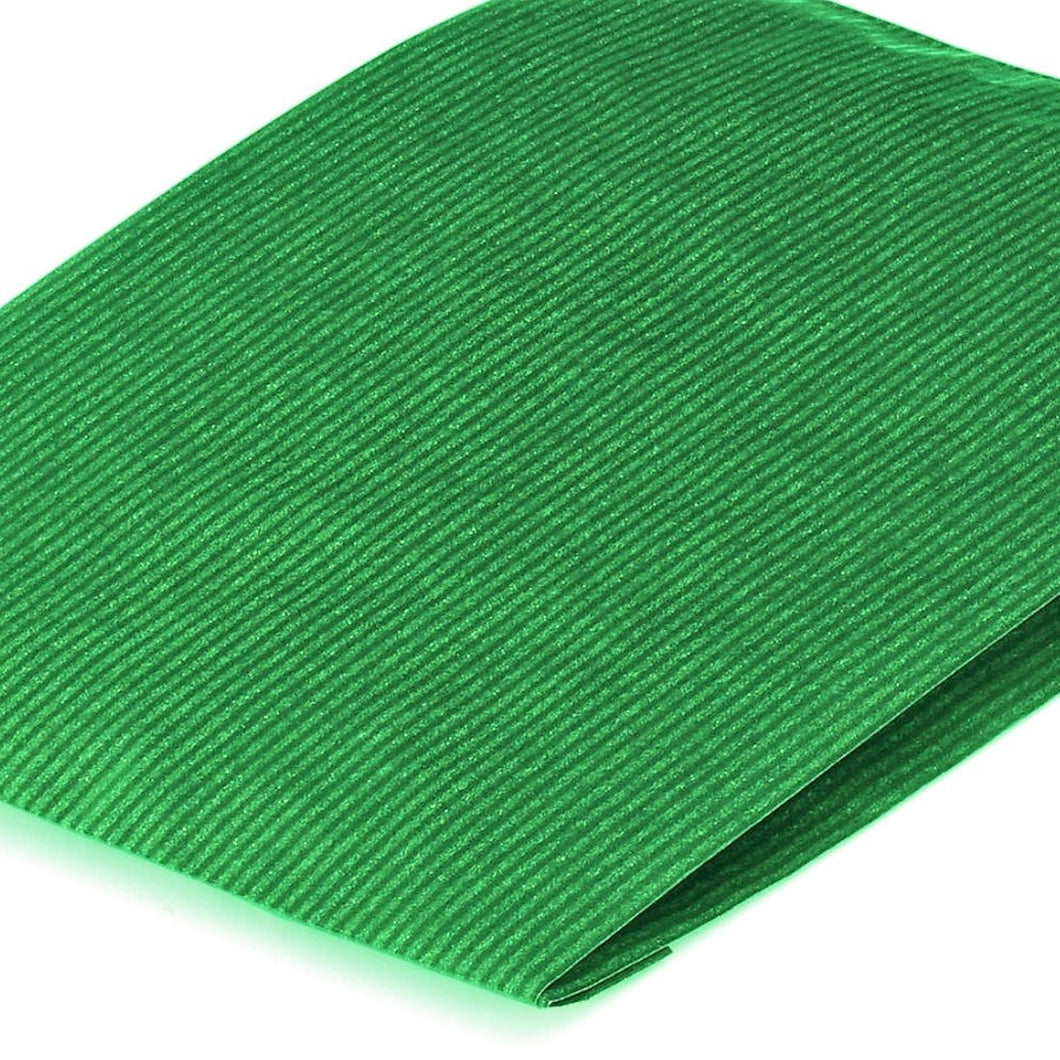 Green Paper Counter Bags 15x4x21cm Heavyweight Premium Kraft