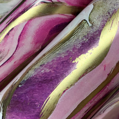 Pink and Gold Marble Print Gift Wrapping Paper 700mm x 500mm