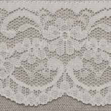 Load image into Gallery viewer, White Vintage Scalloped Edge Lace Trimming Edging 63mm Width