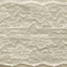 Load image into Gallery viewer, Ivory Vintage Scalloped Edge Stretch Lace Trimming Edging 145mm Width