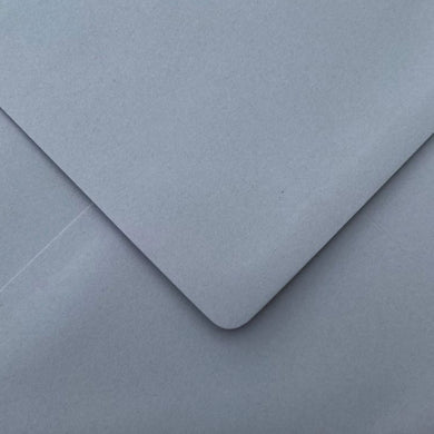 C6 Wagtail Grey Envelopes Gummed Diamond Flap Premium 120gsm