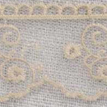 Load image into Gallery viewer, Natural Linen Vintage Tulle Lace Trimming Edging 30mm Width