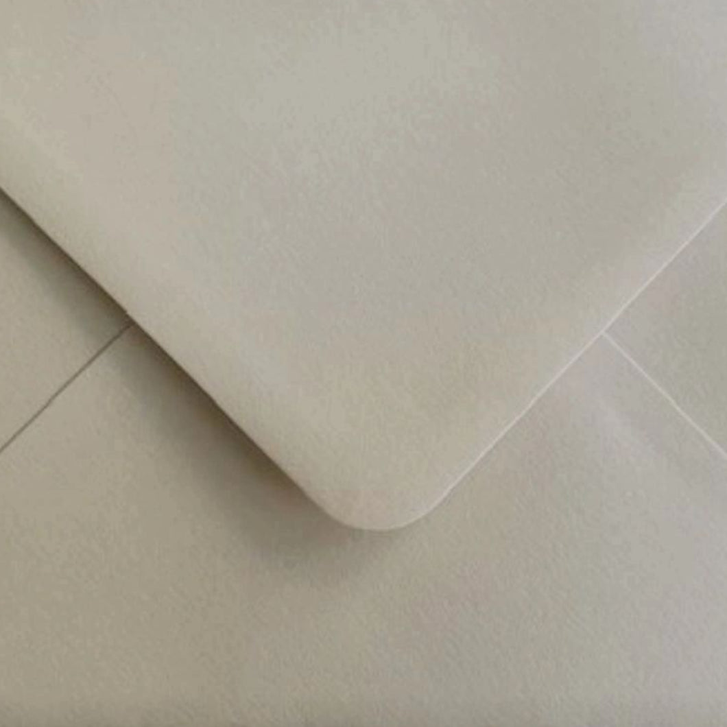 C6 Virtual Pearl Shimmer Envelopes Gummed Diamond Flap Premium 120gsm