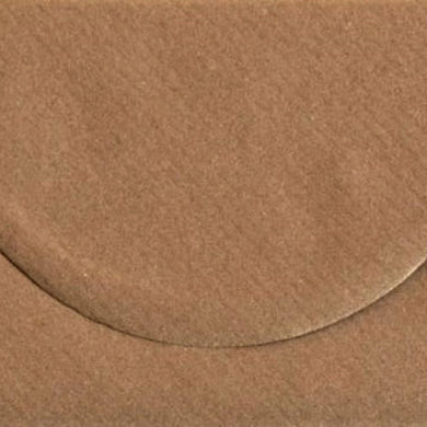 DL Ribbed Envelopes Recycled Kraft Brown ECO Gummed 100gsm