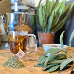 Sleep Tea With Sage, Lemon Verbena & Saffron