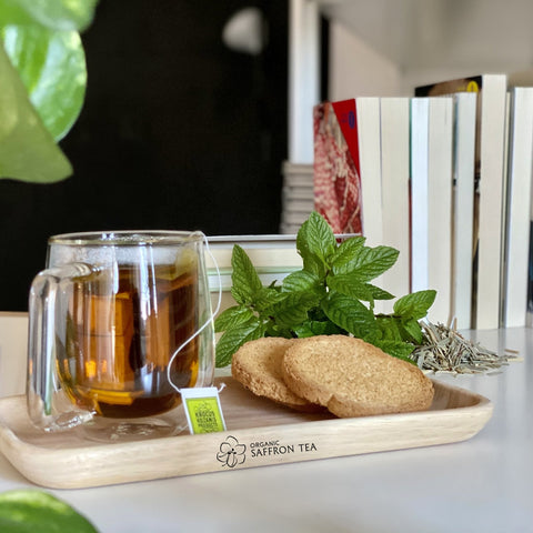 Mint Tea with Lemongrass & Saffron